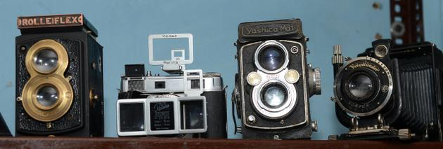 Cameras of yore: At Camera Crafts / The Hindu