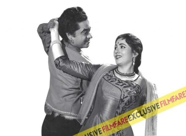 In the early '60s musical comedies had become a staple for star her. Her pairing with Kishore Kumar was being appreciated a lot and one such caper was the fun-filled film Jhumroo.