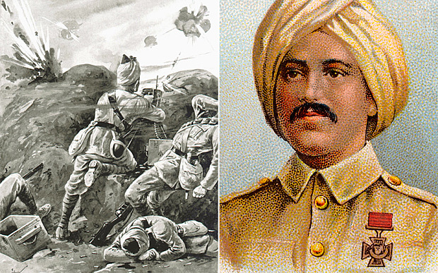 Sepoy Khudadad Khan was awarded the Victoria Cross during World War One Photo: GETTY