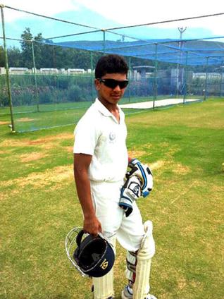 Crickter Ashwin Hebbar / The Hindu