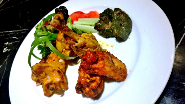 Non veg starters by chef Hussain. | IANS