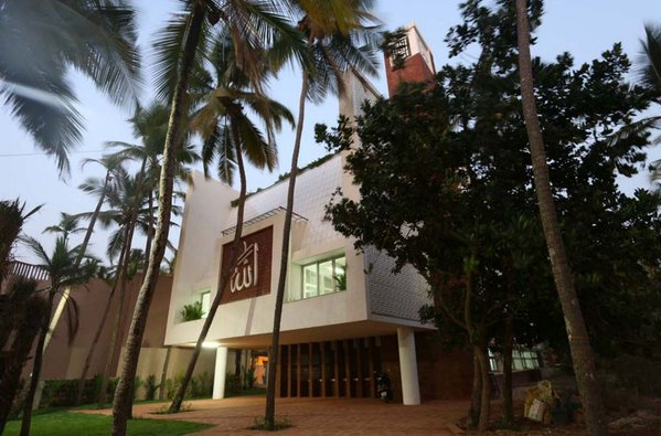 ECO-FRIENDLY ABODE : The Rs 2-crore mosque built by the Beary Group aims to promote harmony among all communities.