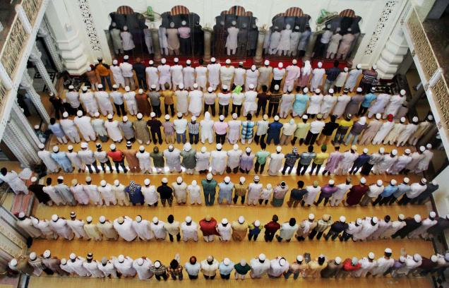'Taraweeh' prayers are exclusive to the month of Ramadan. Photo: PTI