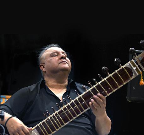 Shujaat Husain Khan. Photo: Shaju John / The Hindu