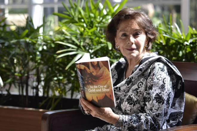 Kenize Mourad, author of 'In the city of gold and silver – the story of Begum Hazrat Mahal'. Photo: Sangeetha Devi Dundoo
