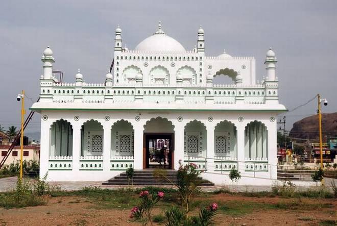The Tipu Sultan memorial in Dindigul.