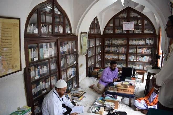 The library at the Khaja Bandanawaz Dargah in Gulbarga.