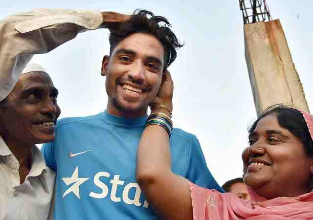 The 23-year-old speedster from Hyderabad, born to an auto rickshaw driver came to limelight with his scintillating performance in the 10th season of Indian Premier League | Photo Credit: PTI