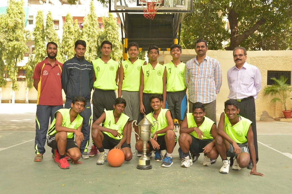 St Paul's High School team that emerged winners of the inter-school basketball championship.