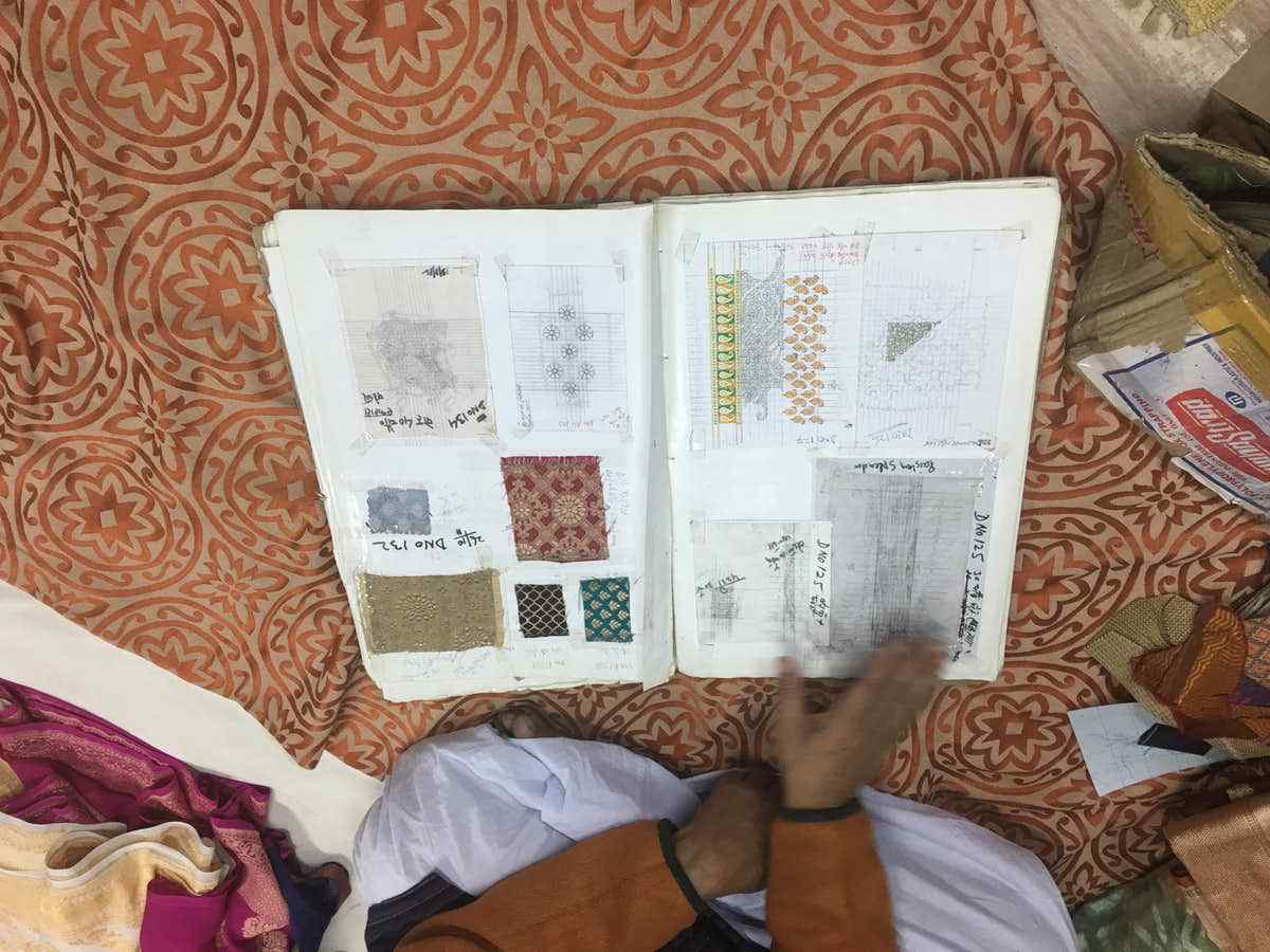 From planning to making the saree it took almost six months. (Photo Courtesy: Vikrant Dubey)