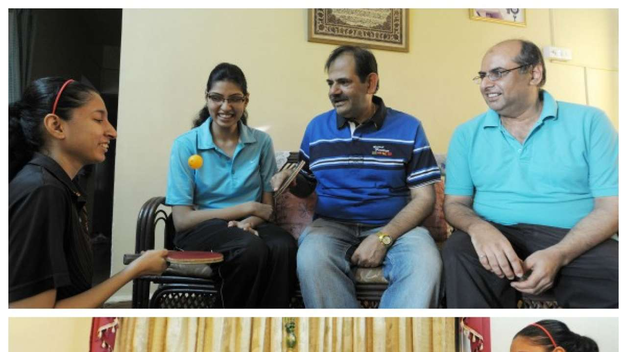 (L to R) Yusuf,Yamani,Iqbal,Fauzia in their house at Kalyani Nagar - Snehil Sakhare, DNA